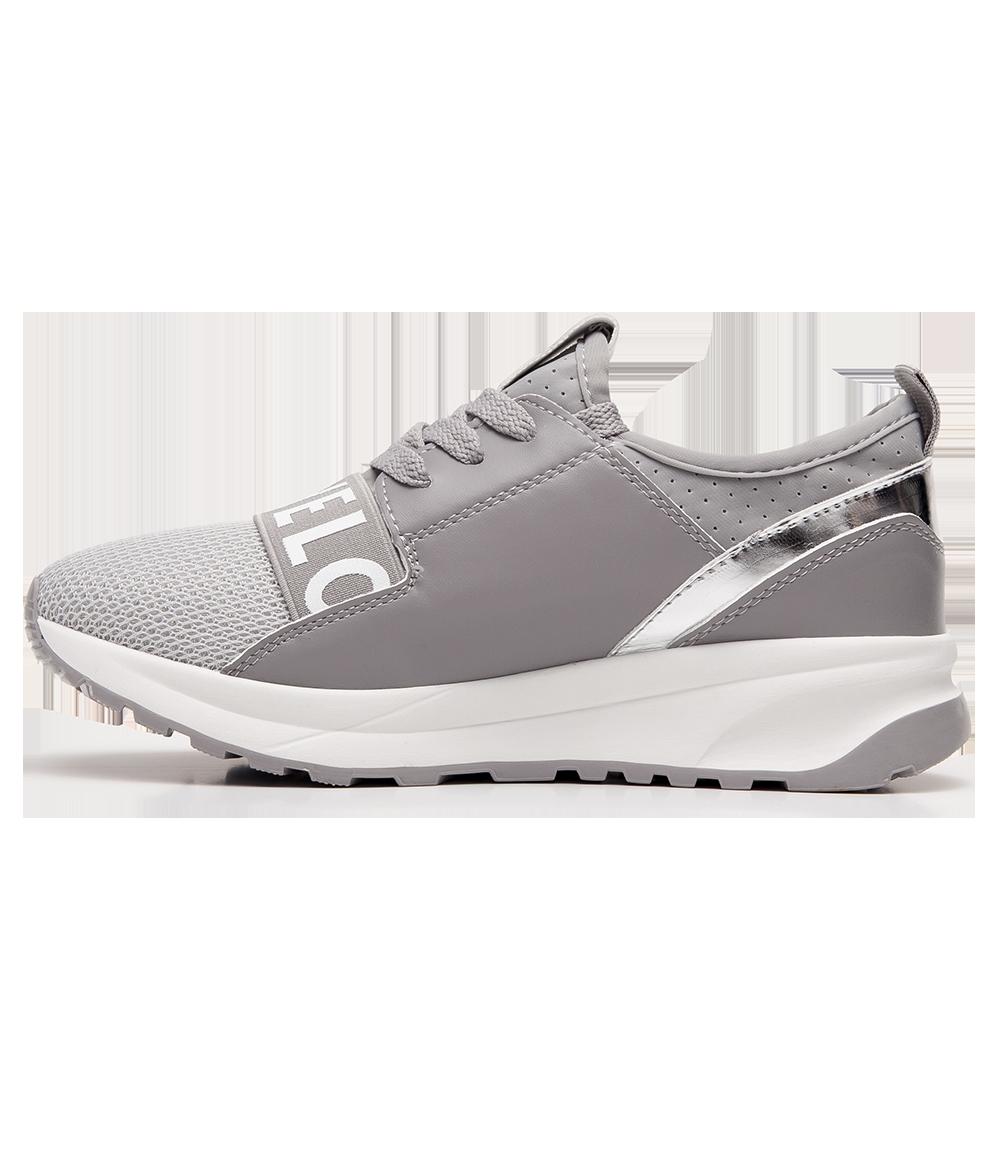 Buty sportowe damskie Ideal Shoes X 9703 Szare
