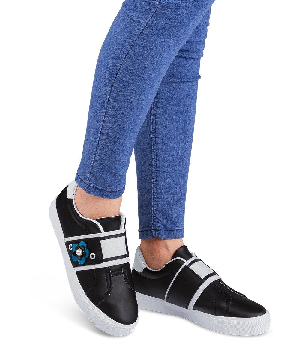 Buty sportowe damskie IdealShoes W3079 Czarne