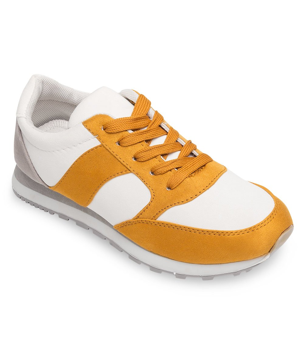 Buty sportowe damskie Marquiiz W 3077 1 Biało Żółte 36