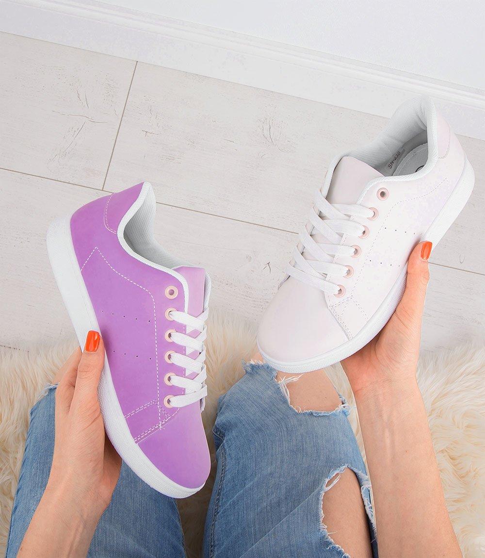 Buty zmieniające kolor NM SN 230 Różowe UV