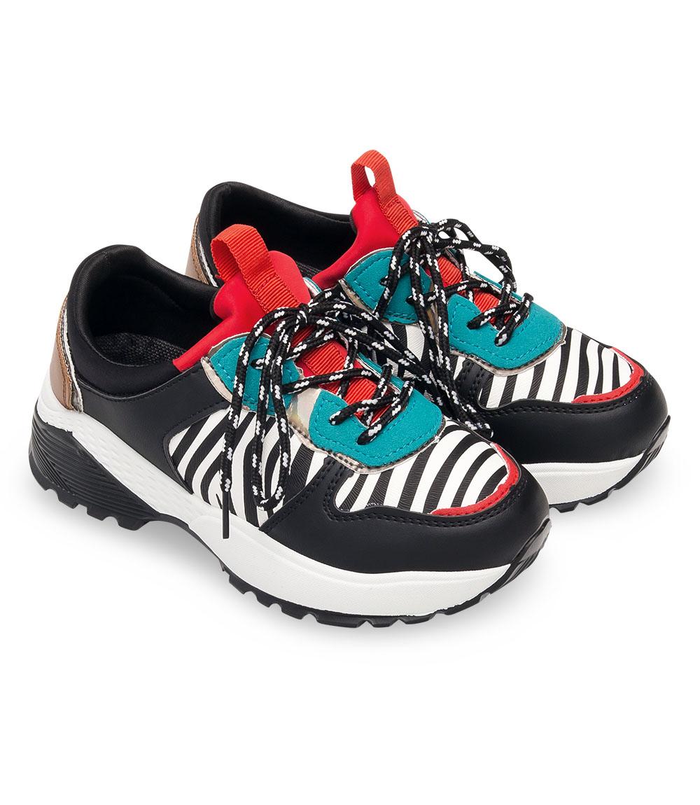 Buty sportowe dziecięce Bello Star BO 110 Czarne