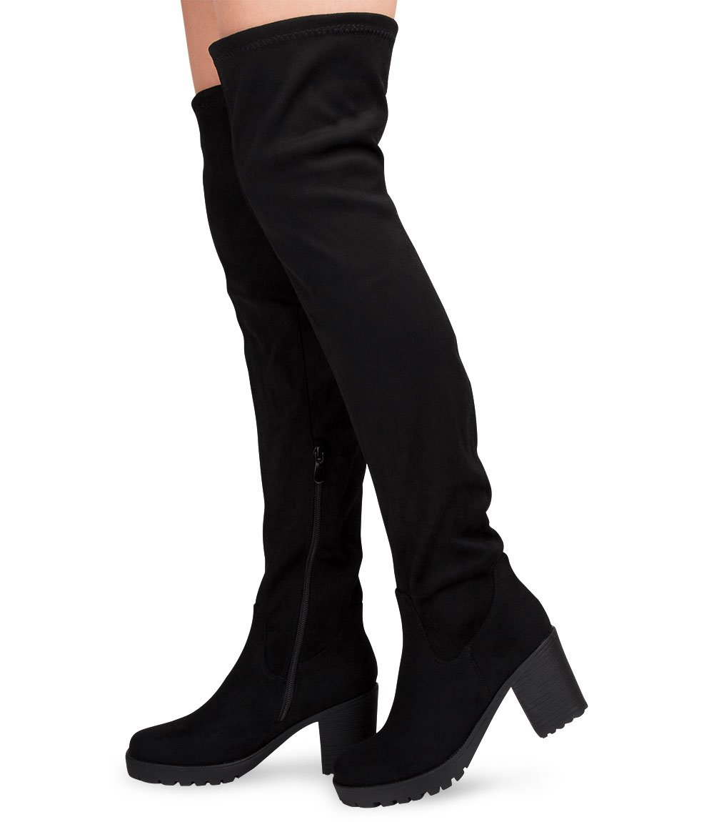 Tworzywo sztuczne Zamek Kozaki damskie L.Lux.Shoes JKD 59