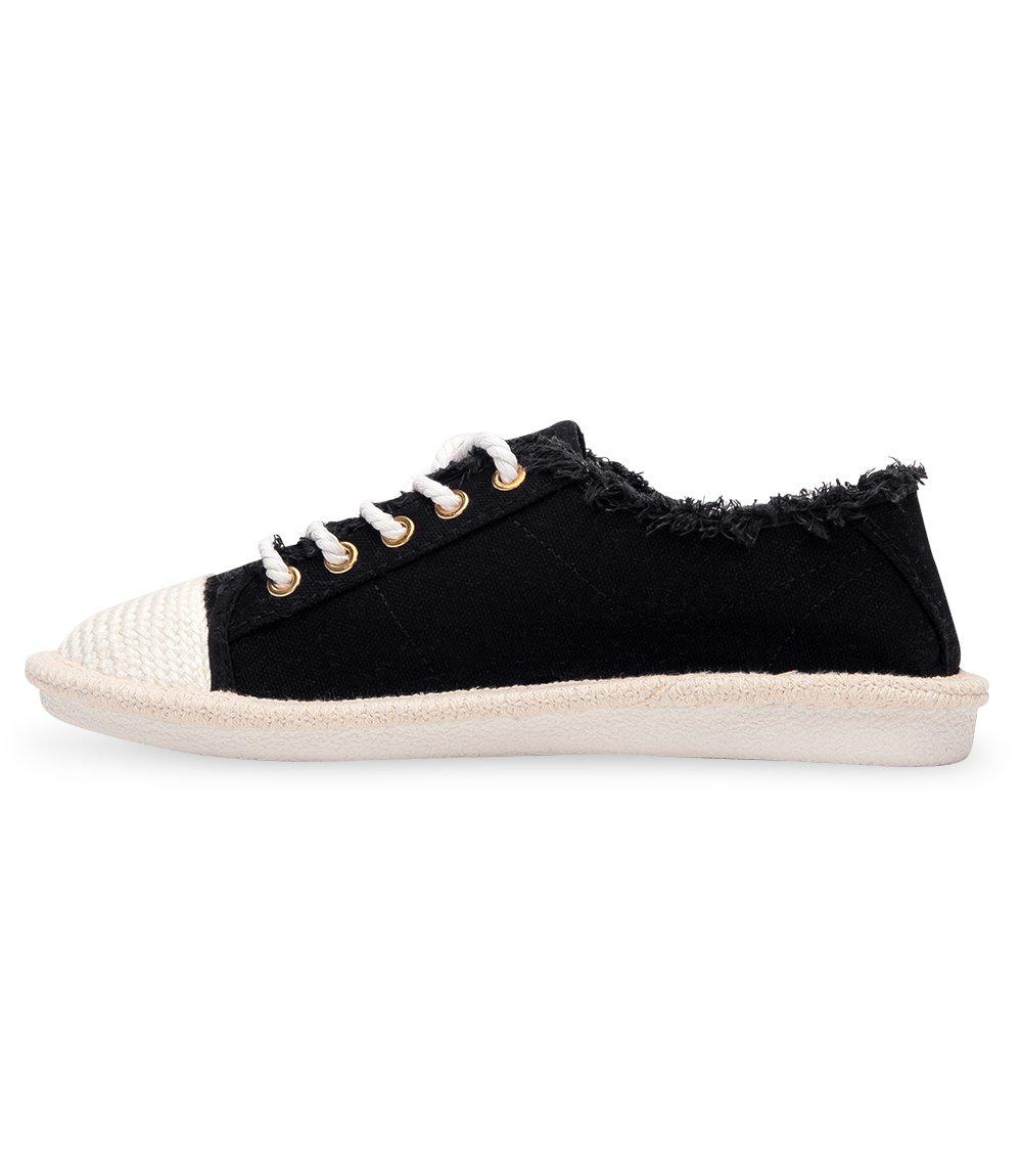 Trampki damskie Ideal Shoes X 9716 Czarne