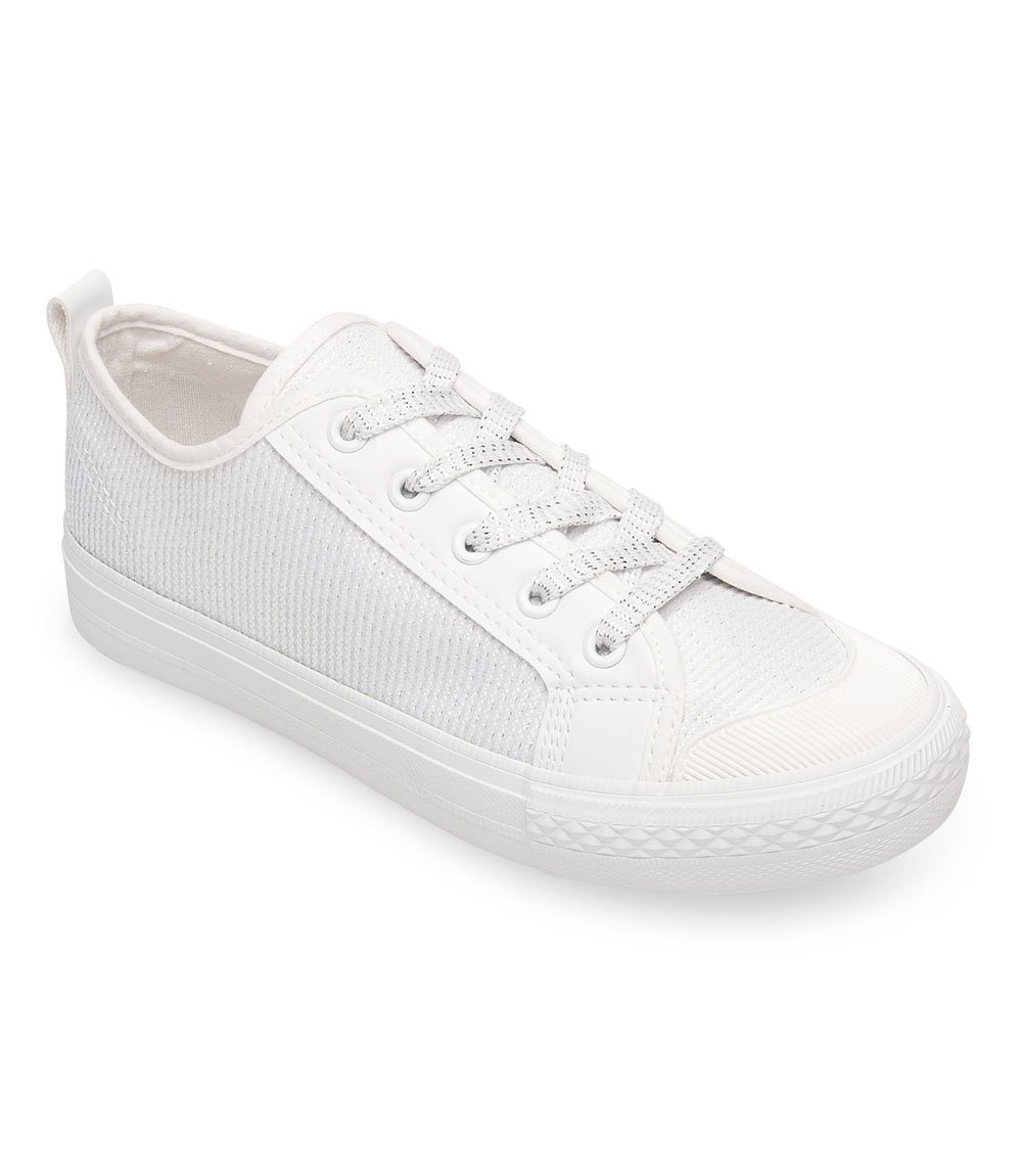 Trampki damskie NM BOK 1138 Białe